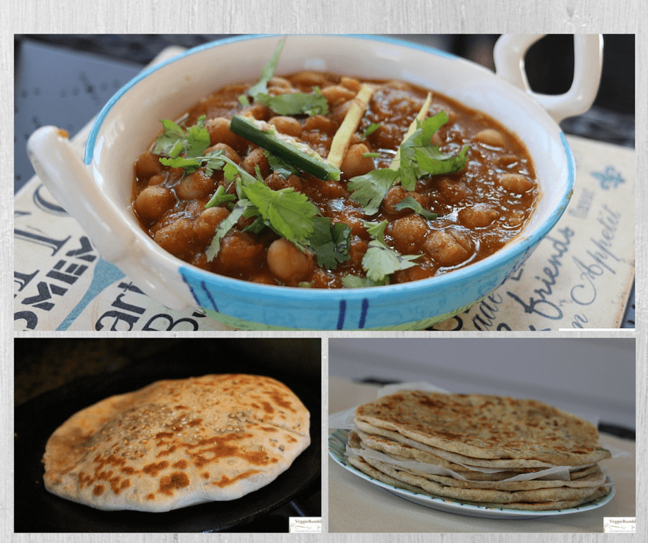 Chole Masala served with Kulcha