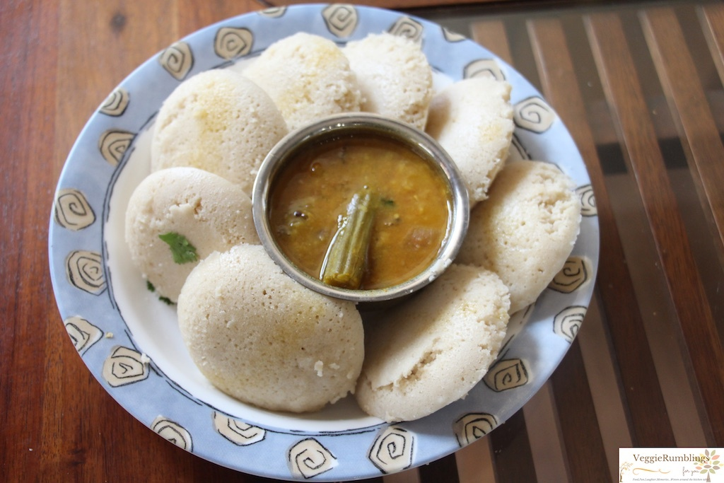 Samai Idli - Steamed, Little Millet Cakes