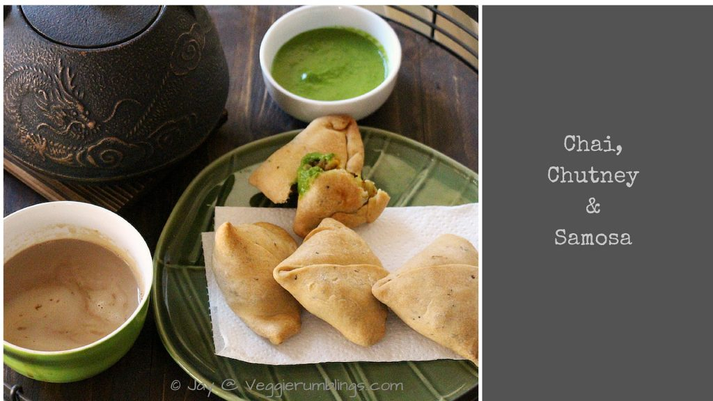 Baked Mixed Vegetable Samosa