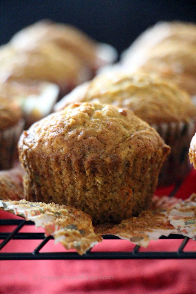Good Morning Muffins - Wholesome, healthy and just perfect!